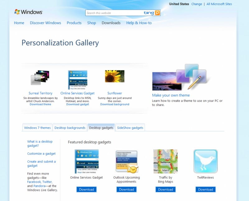 personalization gallery