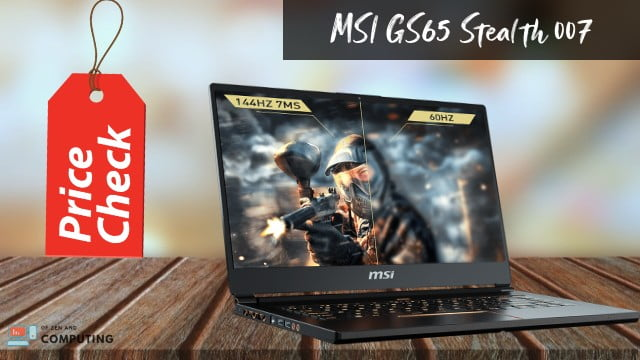 MSI GS65 Stealth 007 Review 2020
