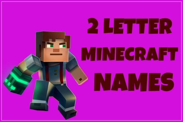 2 Letter Minecraft Names (2020)