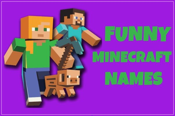 Funny Minecraft Names (Hilarious)
