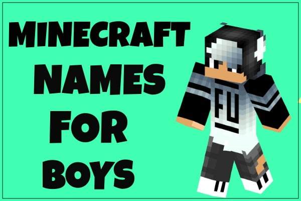 Minecraft Names For Boys 2020