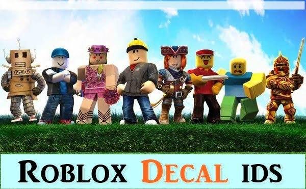 Roblox Decal IDs List (2020)