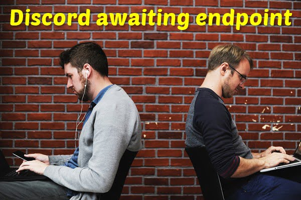 What does Awaiting Endpoint Mean on Discord?