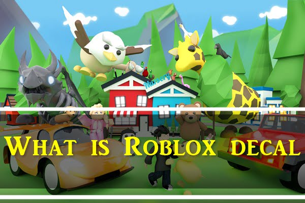 What is Roblox Decal?