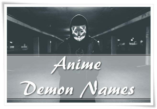 Anime Demon Names