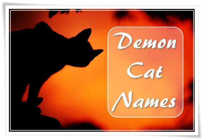 Cat Demon Names