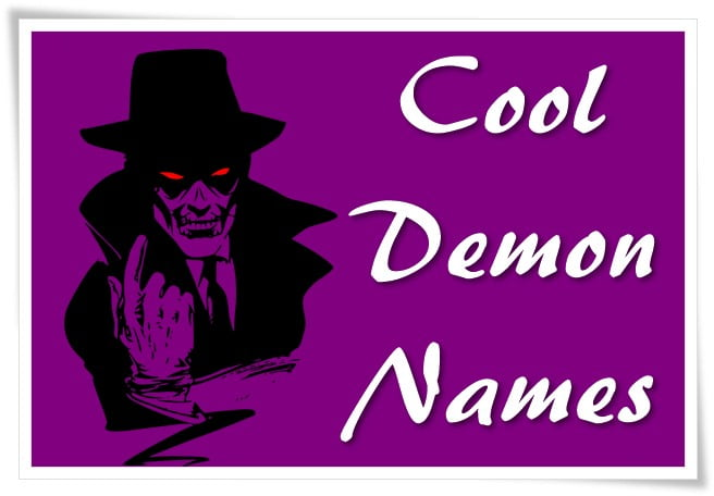 Cool Demon Names