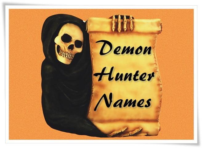 Demon Hunter Names