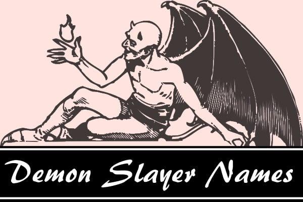 Demon Slayer Names