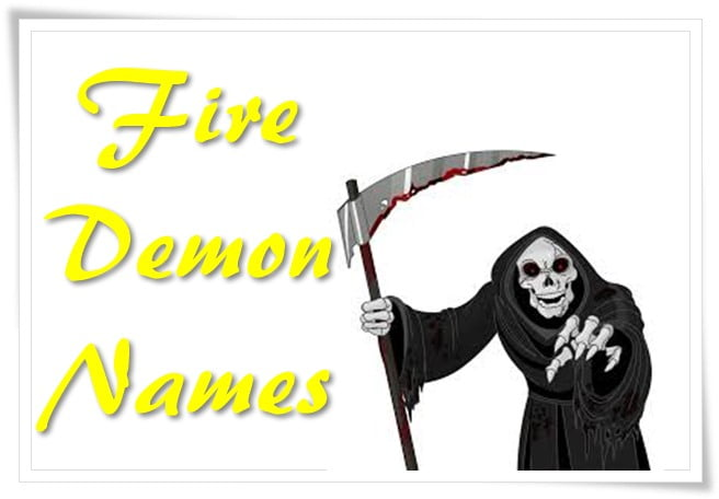 Fire Demon Names