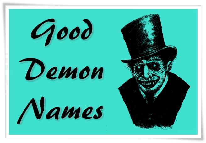 Good Demon Names