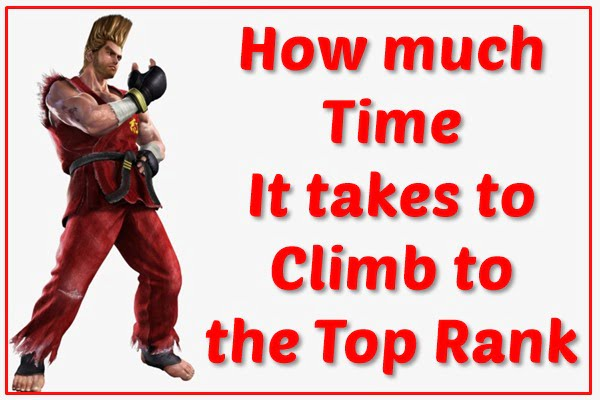 How Much Time Does It take to Climb to the Top Rank?