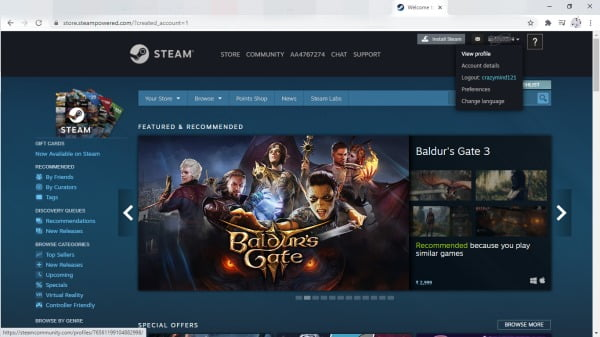 How to delete previous steam names?