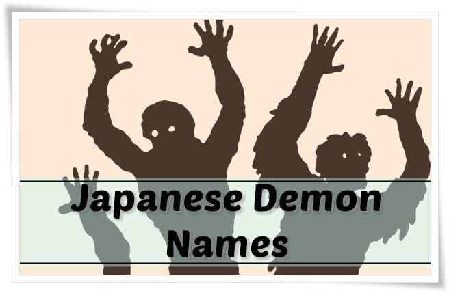 Japanese Demon Names