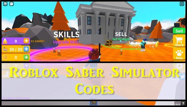 Roblox Saber Simulator Codes (2020)