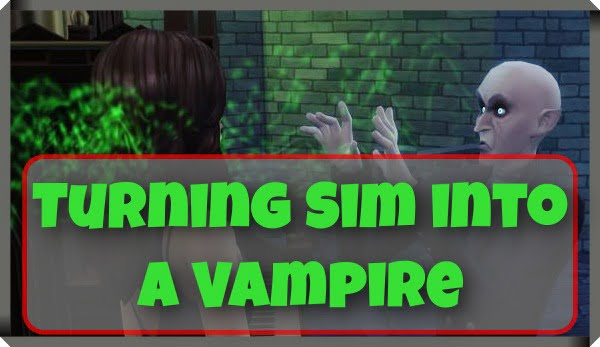 Cheat Codes For Turning Sim into a Vampire Cure Vampire